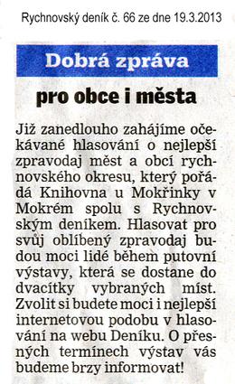 Rychnovský deník 19.3.2013